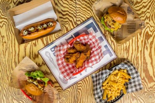 Two Jays Burger Joint menu Sydney Olympic Park Takeaway